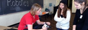 Girls STEM Summit Robotics Career Path workshop