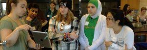 Girls STEM Summit Laboratory Technology Science workshop