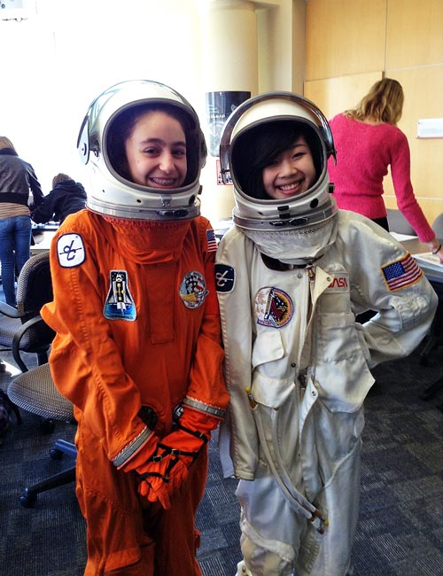 Jr.Tech Girls STEM Summit NASA Space mission