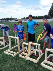 Jr.Tech Trebuchet STEM Workshop