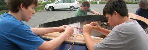 Boatbuilding Electronics Jr.Tech STEM Workshop