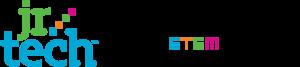 jr.tech logo and tagline
