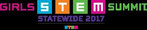 2017 Girls STEM Summit–Statewide logo