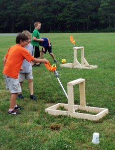 Jr.Tech Trebuchet STEM workshop mission