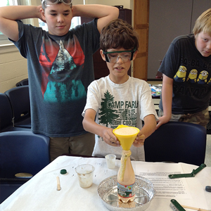 Fizz, Bang, Boom! Fun with Chemistry Jr.Tech STEM Workshop