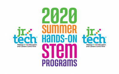 Jr.Tech announces registration is now open for 2020 Summer STEM Programs